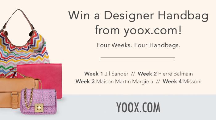 Yoox.com Designer Handbag Giveaway!
