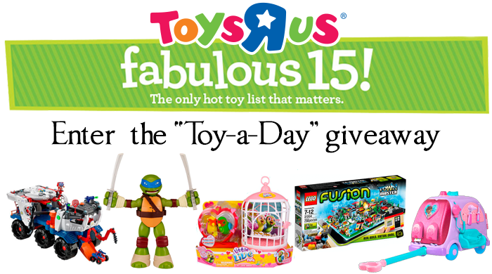 "Toys R Us ""Toy-a-Day"" Giveaway"