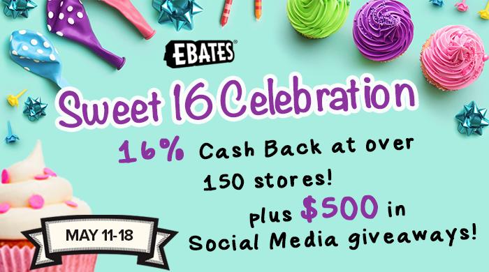 Ebates Sweet 16 Celebration