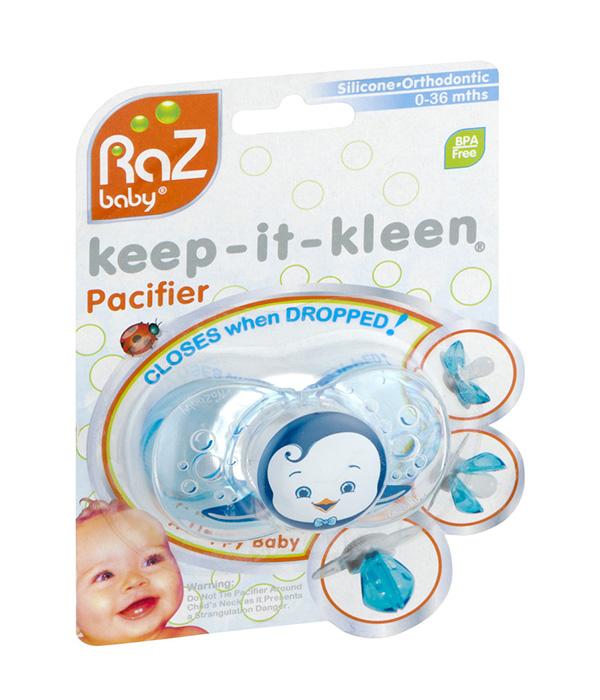 Razbaby® Keep-it-Kleen Pacifier
