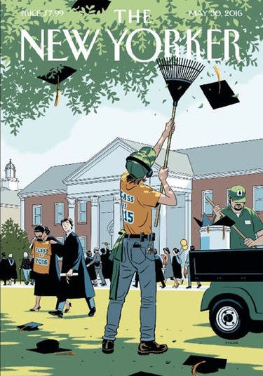 The New Yorker magazine cover