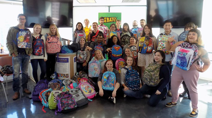 Cityteam back to school backpack drive with Ebates