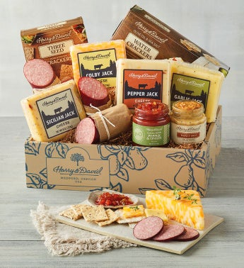 Harry & David Grand Meat and Cheese Gift Box
