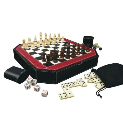 Mainstreet Classics Octagon 5 in 1 Combo Game Set