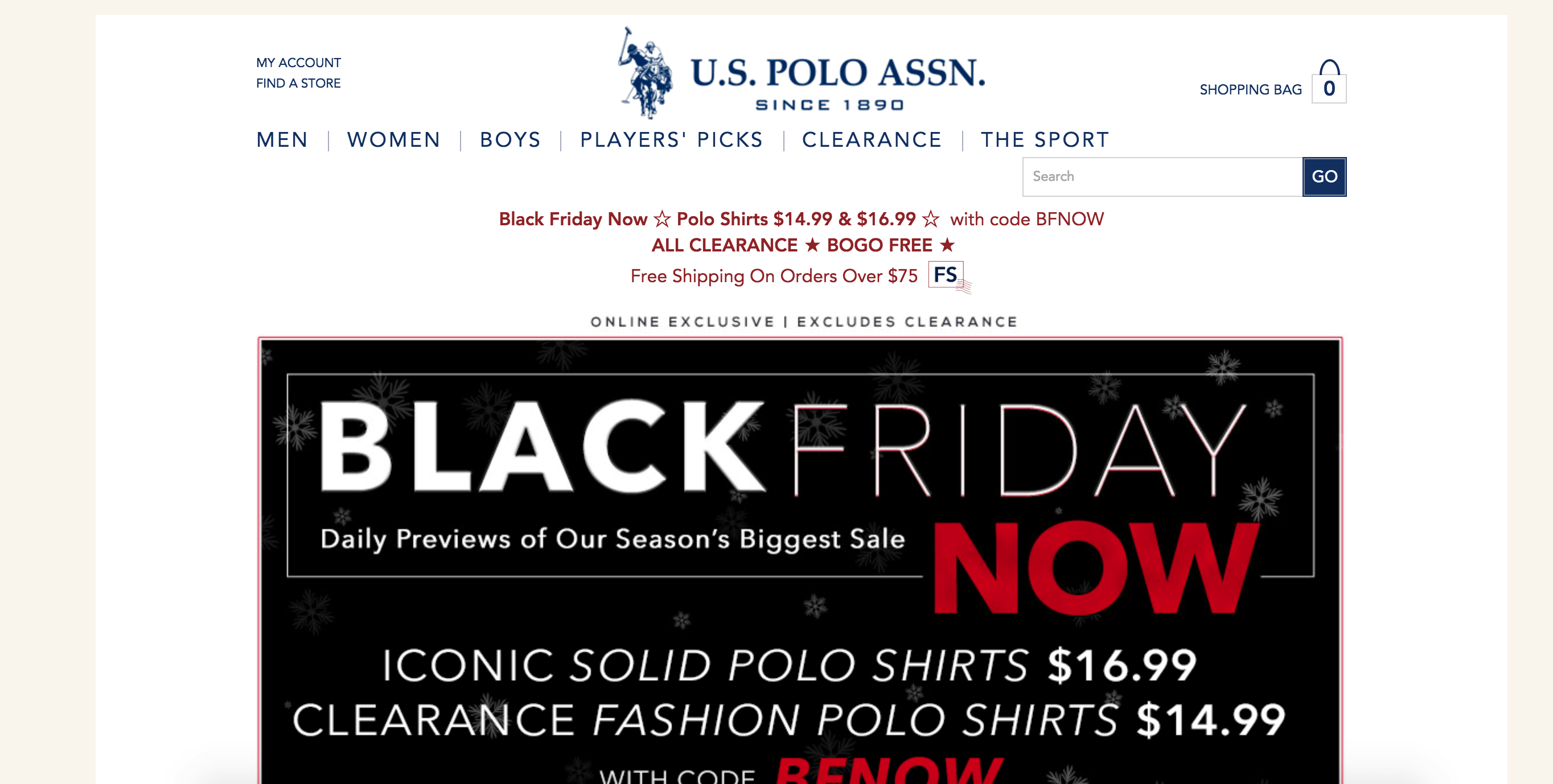 US Polo Coupons & Cash Back