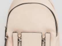 Asos New Look Mini Zip Pocket Backpack