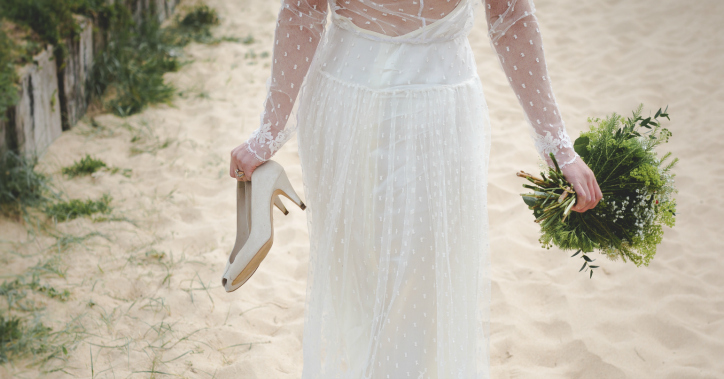 What Your Bridal Shoes Say About You 1