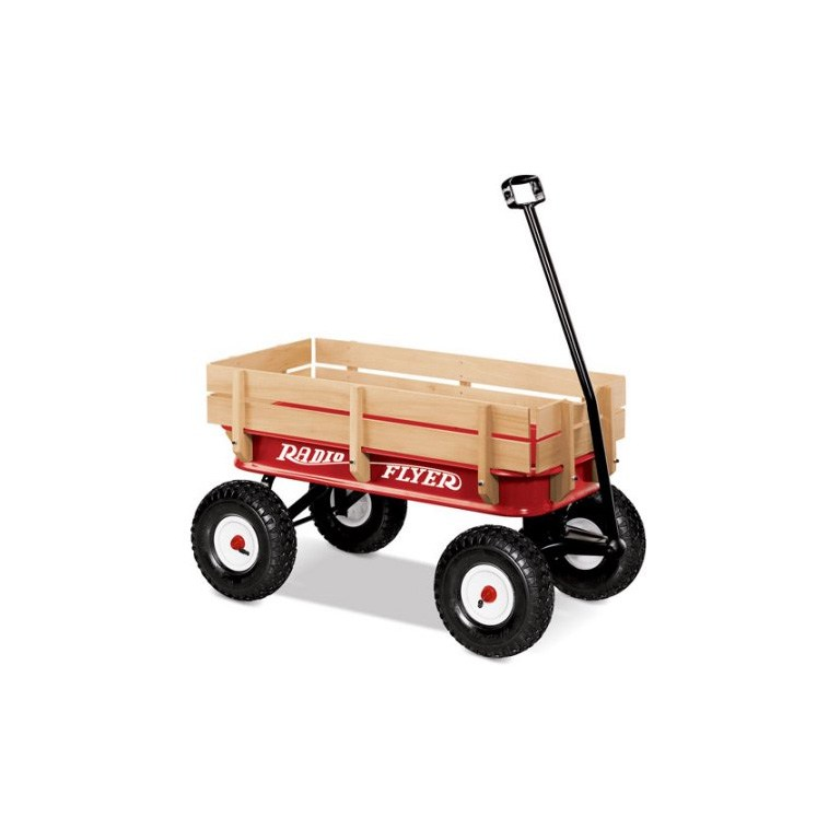 Red Flyer Steel Wood Wagon
