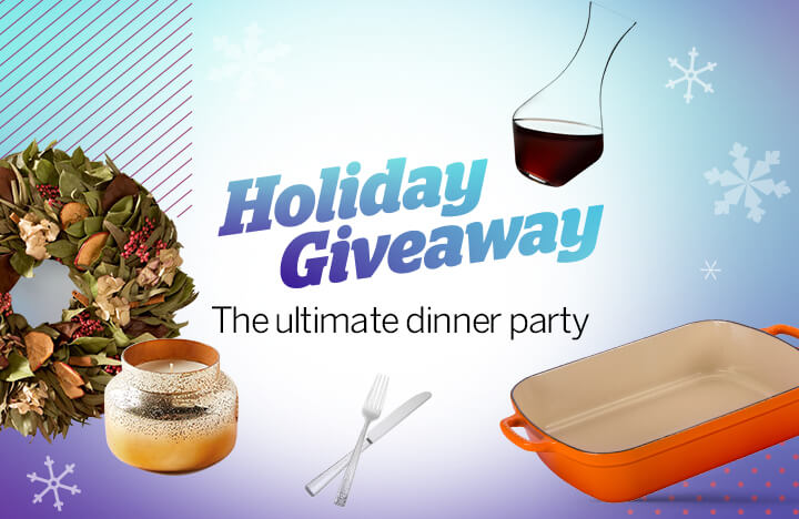 Facebook Live Giveaway: The Ultimate Dinner Party | Rakuten Blog