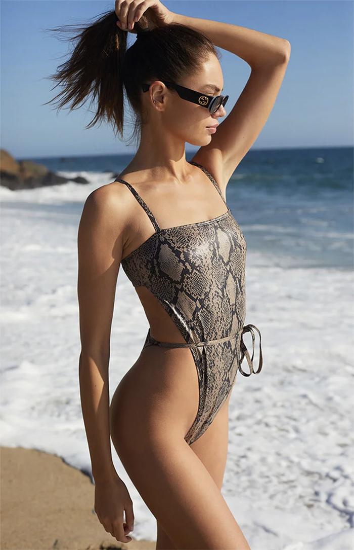 Motel Rocks Hiwa One Piece Swimsuit