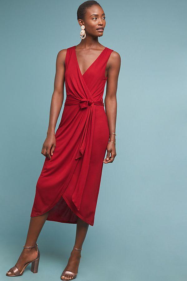 Anthropologie Mayer Midi Dress