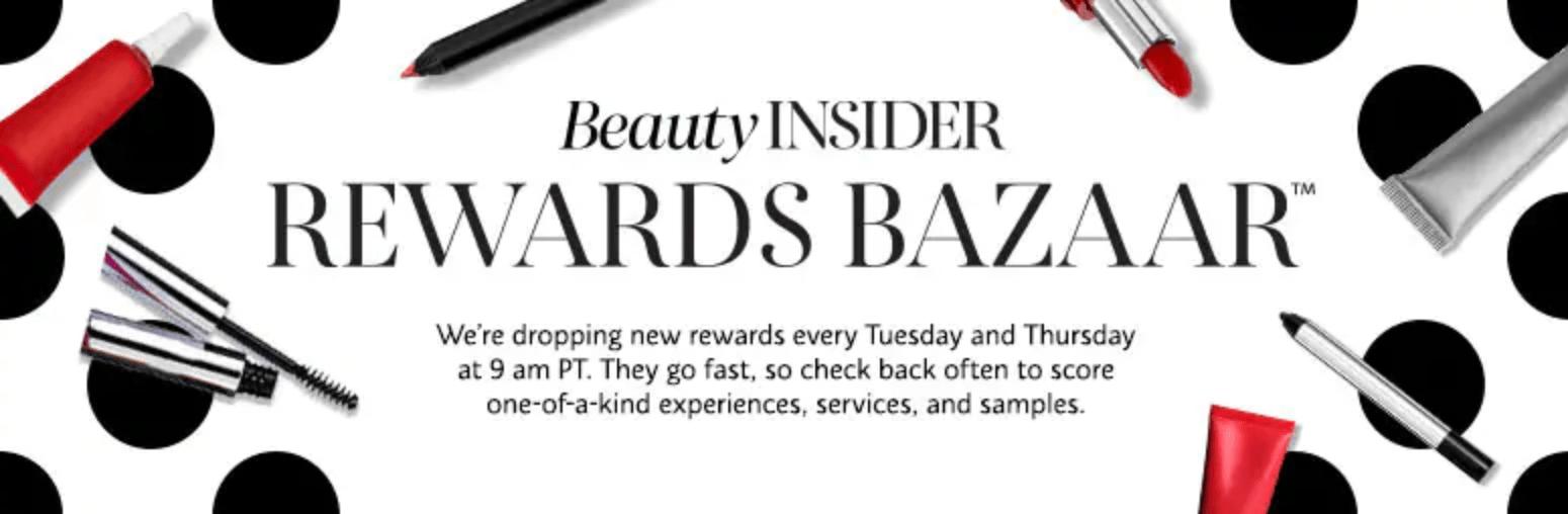 Sephora Rewards Bazaar