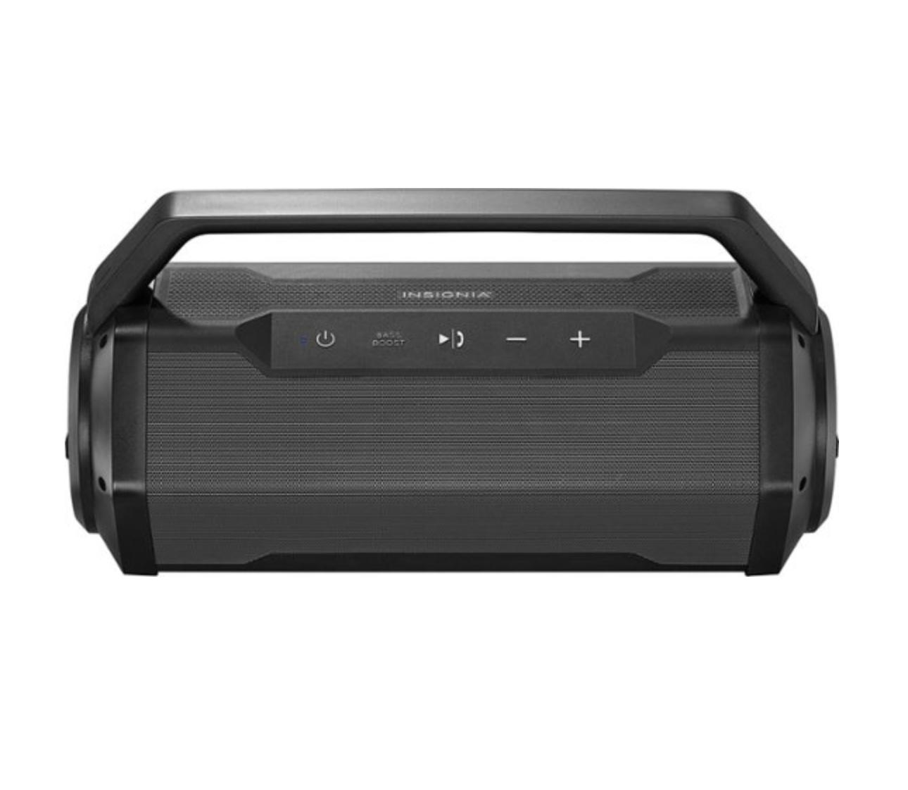 Insignia™ - Waterproof Portable Bluetooth Speaker