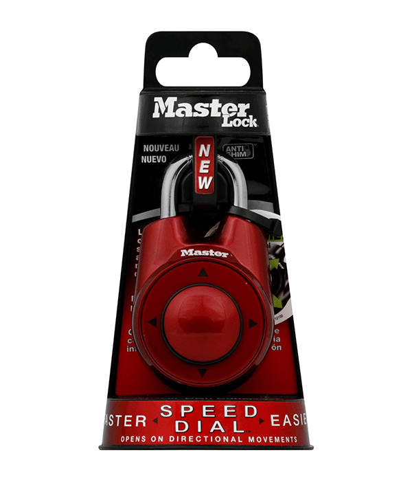 Master Lock Company Speed Dial Set-Your-Own Combination Lock