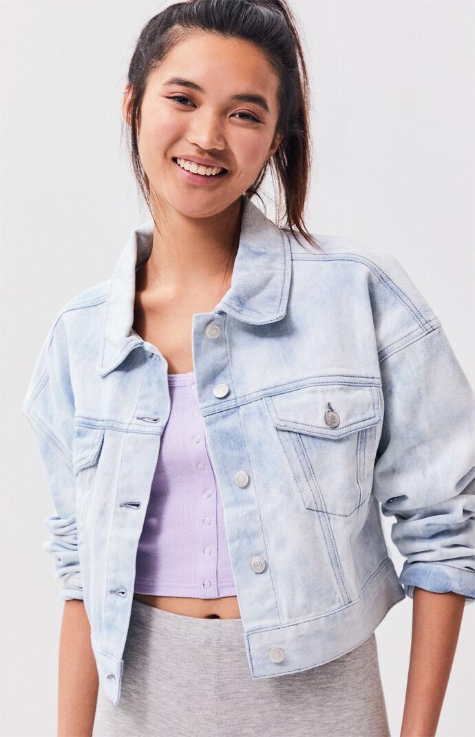 PacSun Bleached Denim Jacket