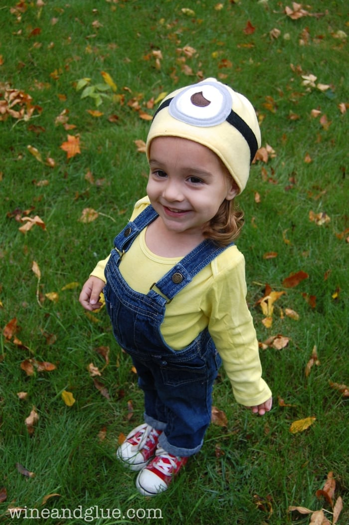 Despicable Me Minion kids halloween costume