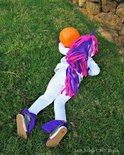 Left Brain Craft Brain diy unicorn kids halloween costume