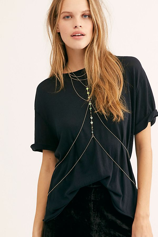 Free People Paradise Body Chain
