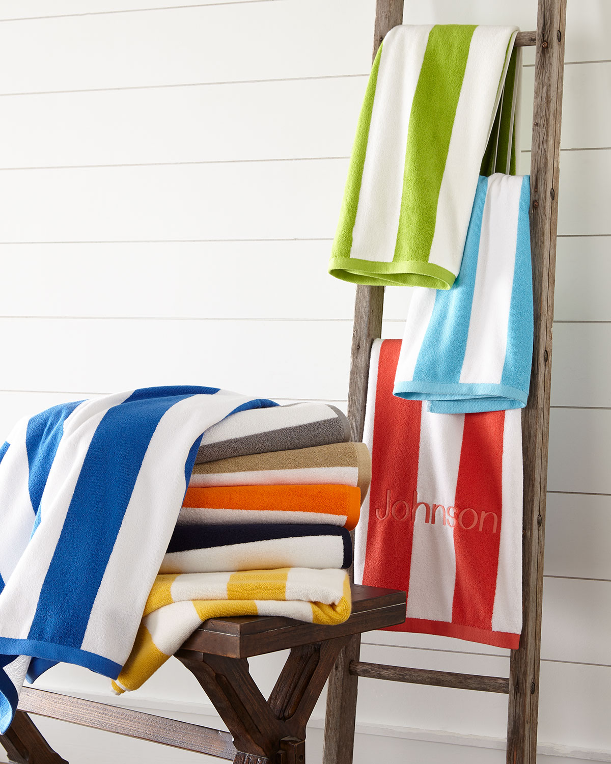 Kassatex Cabana Stripe Beach Towel