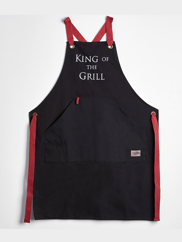 King of the Grill Personalized Apron with Bottle Opener