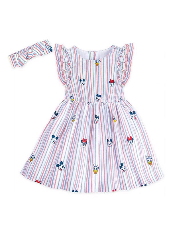 Mickey Mouse and Friends Summer Fun Woven Dress