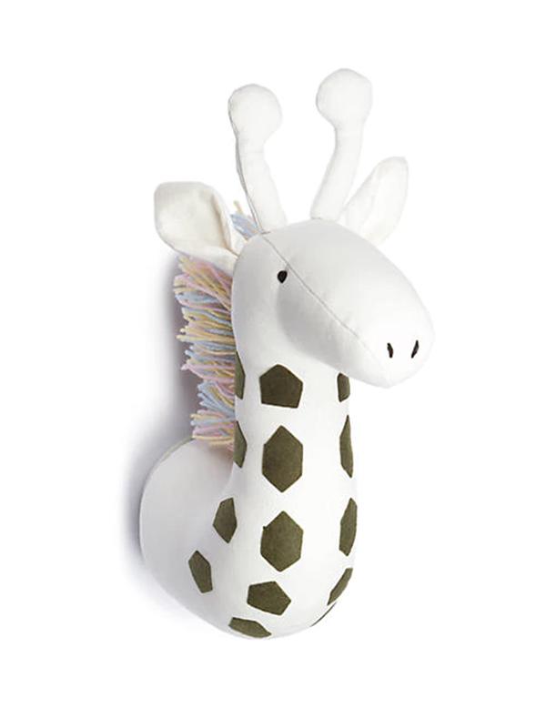 Lightning Bug Faux Giraffe Head
