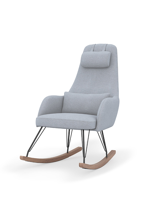 Weeble Rocking Chair - Cloud