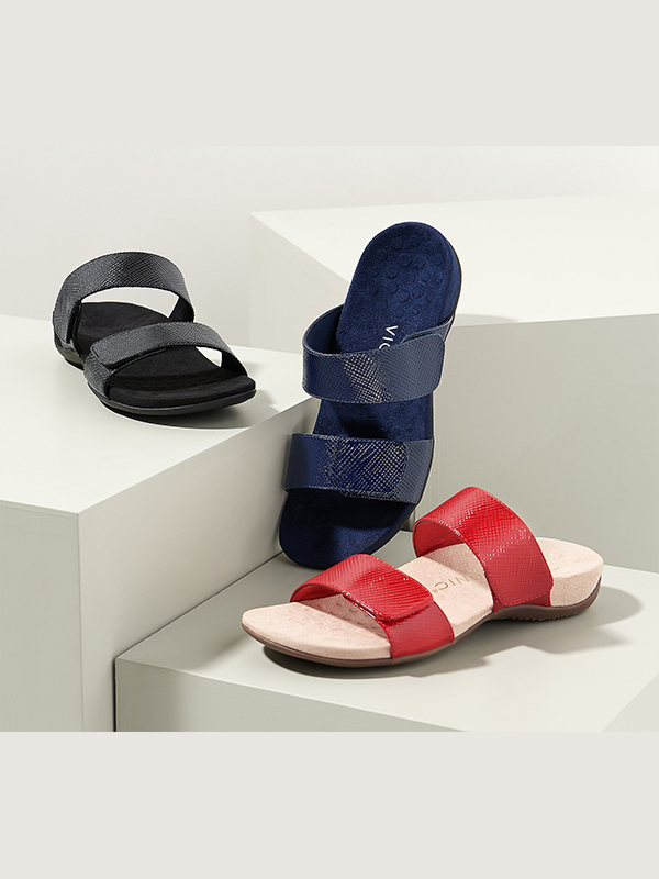 Vionic Lizard Skin Sandals