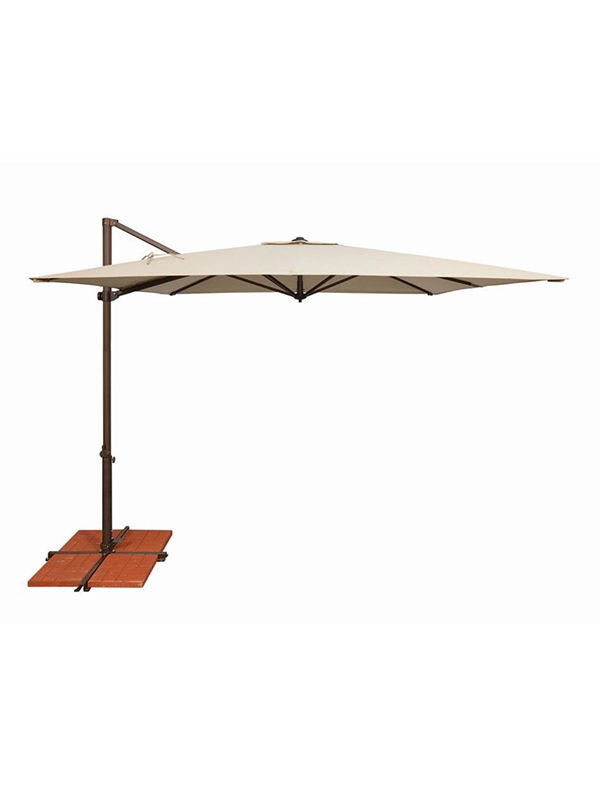 SimplyShade 8.6' Square Cantilever with Cross Base