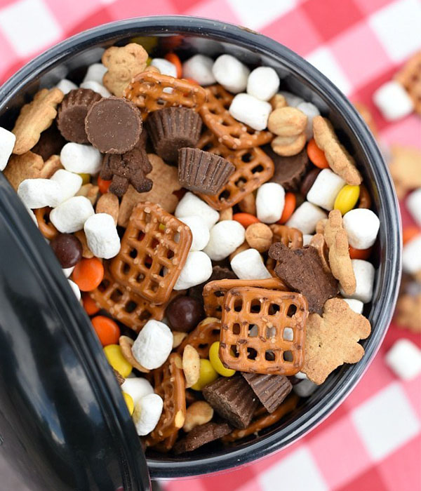 Peanut Butter S'mores Mix