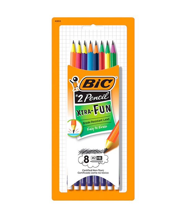 BiC Xtra-Fun No. 2 Pencil, 8ct.