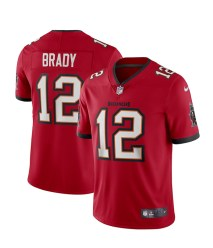 Men's Tampa Bay Buccaneers Tom Brady Nike Red Vapor Limited Jersey