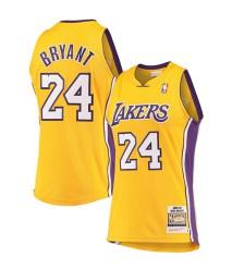 Kobe Bryant Los Angeles Lakers Mitchell & Ness Hardwood Classics 2008-09 Authentic Jersey