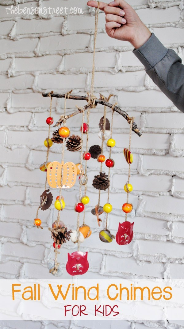 Fall Wind Chimes by The Benson Street