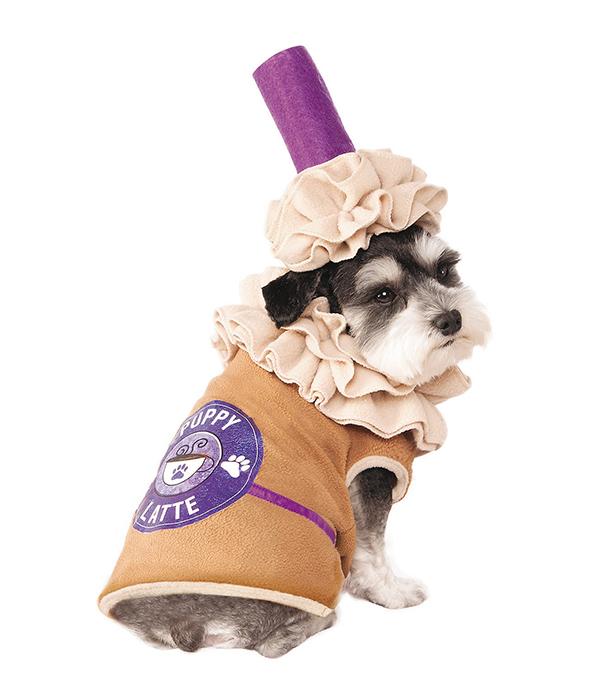 Latte dog costume