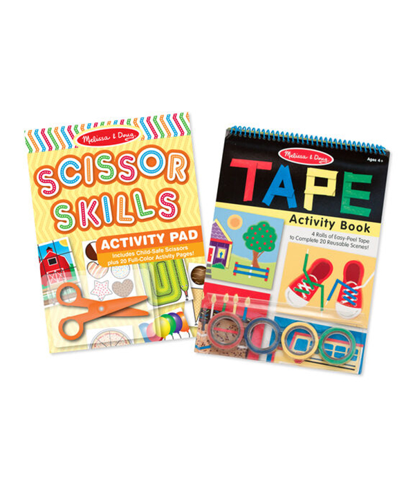 Activity Book Bundle - Scissor Skills & Tape Activity BookActivity Book Bundle - Scissor Skills & Tape Activity Book