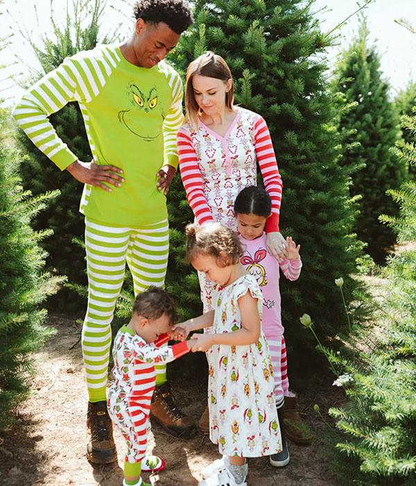 Grinch Matching Family Pajamas