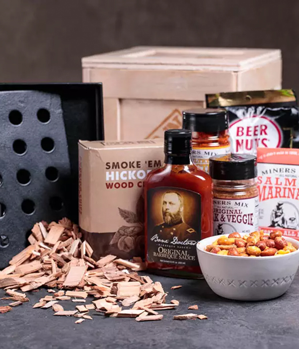 Hickory Grilling Man Crate