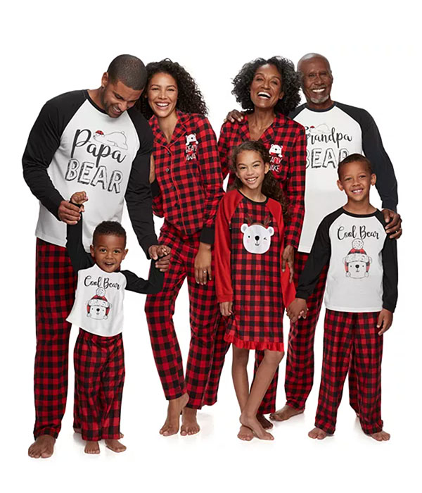 Jammies For Your Families® Cool Bear Family Collection
