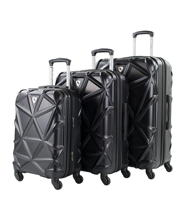 AMKA Gem 3-Pc. Hardside Luggage Set