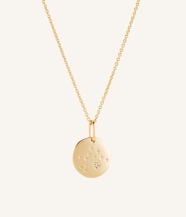 Mejuri Aquarius necklace