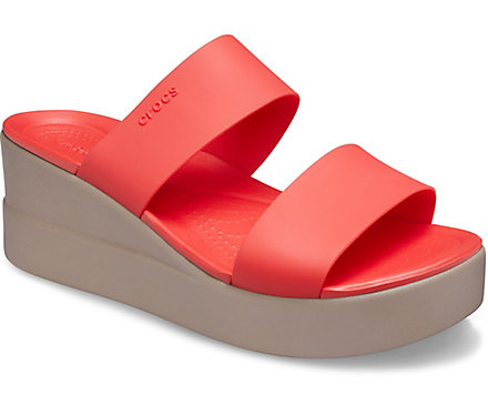 crocs shoes for woman - Brooklyn Mid Wedge