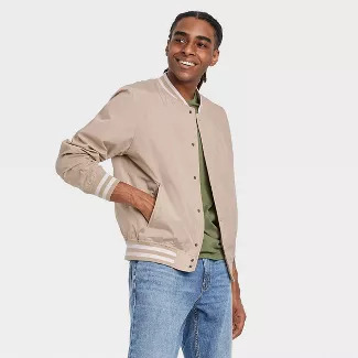 men spring essentials - bomber jacket