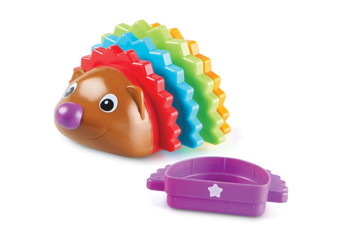 Spike the Fine Motor Hedgehog® Rainbow Stacker