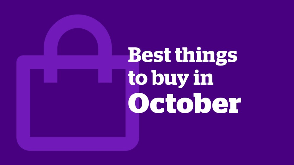 The Best Things to Buy in October