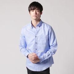 メンズ長袖シャツ