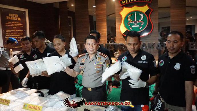 Pertama Sekali Ditemukan, Sabu Seberat 60 Kg Di Apartemen Di Jakarta Barat Dikira Bom