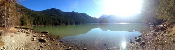 Pano Lake Mountain Wilderness