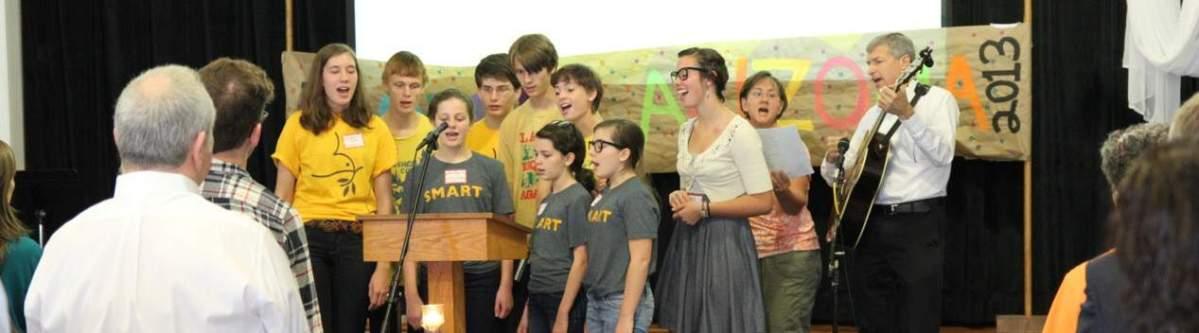 Youth Leading Worship, Oct. 2013