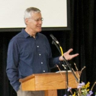 Duane preaching at RMC